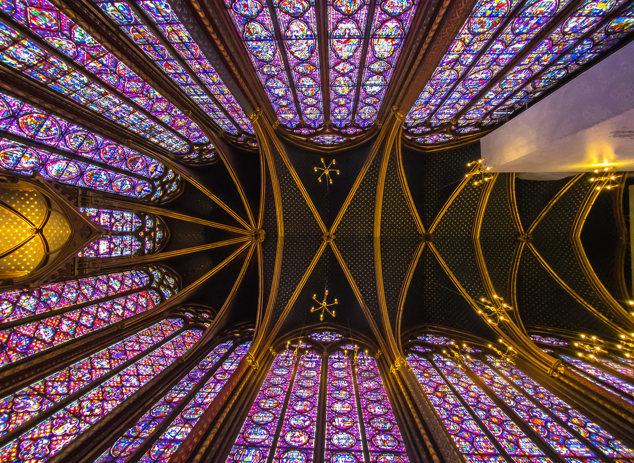Up at Sainte-Chapelle